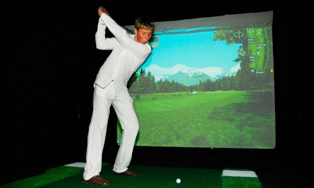 Golf rezort Black Stork simulator